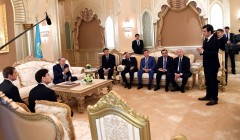 Qazaqstan Prezidenti «Calatrava Grace Corporation» kompaniyasınıñ atqaruşı direktorı Maykl Kalatravamen kezdesti