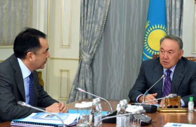 Елбасы Премьер-Министр Бақытжан Сағынтаевты қабылдады