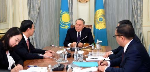 ҚР Президенті Н.Назарбаев